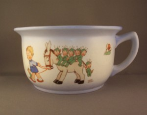 Shelley Childs Chamber Pot by Mabel Lucie Attwell