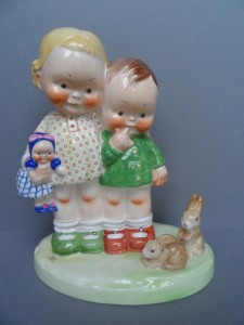 Mabel Lucie Attwell our pets LA19 figurine