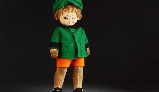 Chad Valley Mabel Lucie Attwell Bambina boy doll
