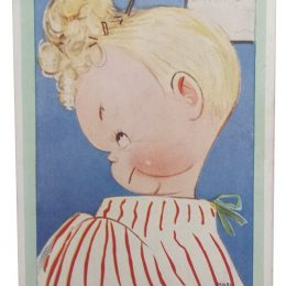 All Up in the Air - Mabel Lucie Attwell Postcard