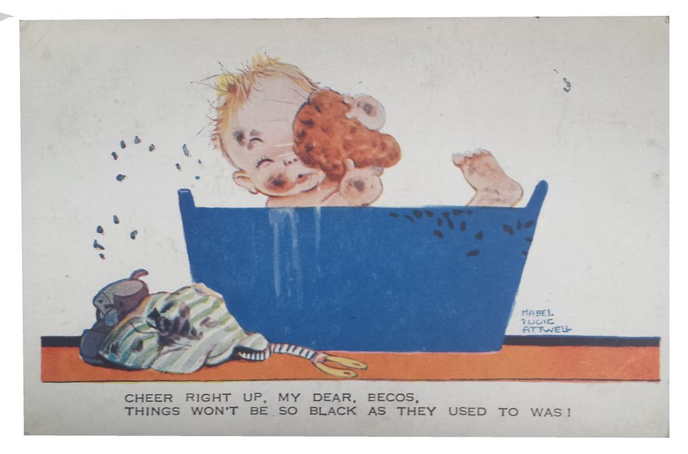 mabel lucie attwell postcard cheer right up my dear