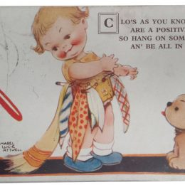 mabel lucie attwell postcard clos as you know