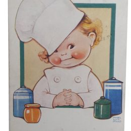 Did You Know I'm Also A Good Cook – Mabel Lucie Attwell Postcard