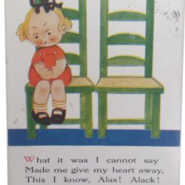 What it was I cannot say – Mabel Lucie Attwell Postcard