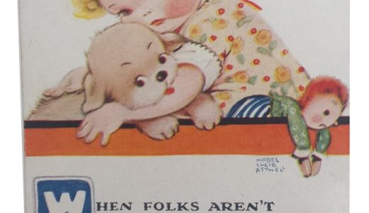 When Folks Aren't As Nice – Mabel Lucie Attwell Postcard