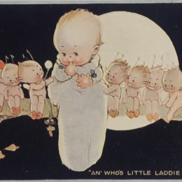 An Who's Little Laddie Are You – Mabel Lucie Attwell Postcard
