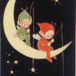 Star Fishing – Mabel Lucie Attwell Postcard